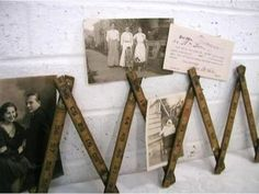 Folding Rulers -  Display your cherished memories