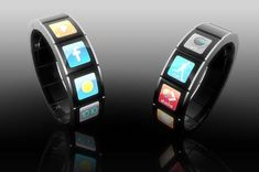 Bracelet/ Watch/ Personal Computer of the Future    #GadgetLove  #gadget #lynnfriedman