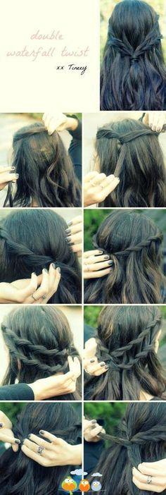 Double braid #tutorial