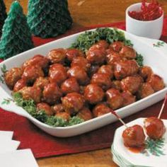Honey-Garlic Glazed Meatballs Allrecipes.com