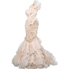 Marchesa - edited by Satinee found on Polyvore
