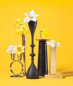 Candlestick as Bud Vase