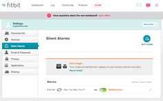 Configure Silent Alarms on FitBit