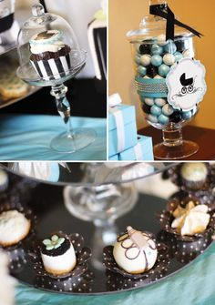 Breakfast with Tiffany Baby Shower- I want to do this for one of my friends!