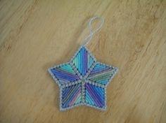 plastic canvas ornament