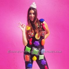 Homemade Candy Crush Costume... … Enter the Coolest Halloween Costume Contest at http://ideas.coolest-homemade-costumes.com/submit/