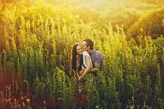 romantic warm engagement