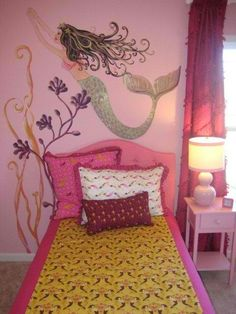 mermaid room! Oh how Anna would love this!