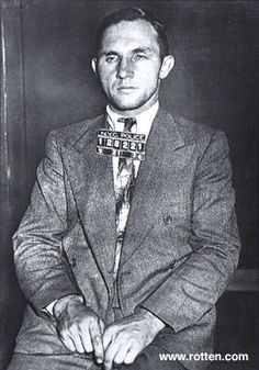 Bruno Richard Hauptmann, an illegal German immigrant, was arrested on September 19, 1934 with a ransom bill on his person. Furthermore he had hidden in his garage 14,000 of the Lindbergh ransom money. Though he denied all involvement, and the evidence on him is shaky at best, he was convicted in a circus atmosphere and executed on April 3, 1936 in Trenton, NJ.