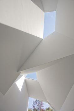 futuristic architecture, geometric