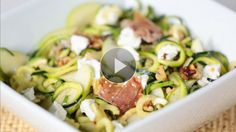 Watch Garlicky Zucchini Noodles (Without The Pasta!) in the Better Homes and Gardens Video