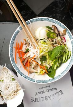 French classics meet Vietnamese cuisine at Austin's Elizabeth Street Café. Sip chicory-laced Vietnamese coffee or sit down to a genuine feast of artfully presented fare like the lip-smacking kaffir-lime-laced fried chicken bahn mi, and a rice vermicelli bowl with crispy Gulf snapper.