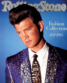 The fashionable Chris Isaak. Rolling Stone - Fall 1988.