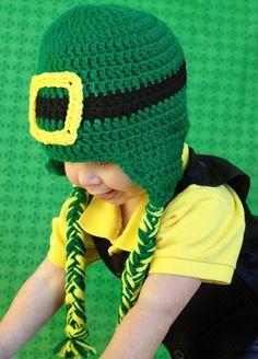 St. Patrick's Day Crochet Leprechaun