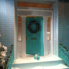 Loving the #christmas windows tiffany this morning