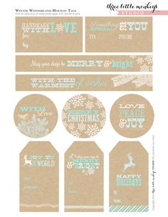 free-christmas-party-printable-holiday-gift-tags christmas parties, party printables, christmas printables, brunch recip, holiday gifts, free printabl, christmas gift tags, christma printabl, christmas gifts