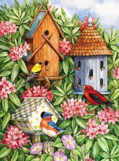 'The Birdhouses'