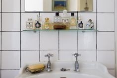 bathroom shelf collection / the selby