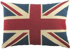 Amazon.com: Union Jack Tapestry Cushion: Home & Kitchen, $22.80