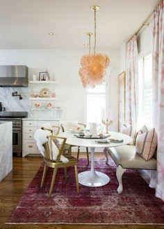 faded jewel tone rugs #jeweltones #home #kitchen