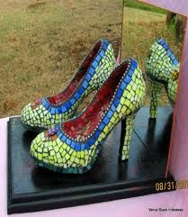 mosaic shoes - Google Search