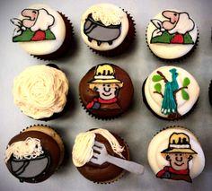 Strega Nona cupcakes childhood books, tomi depaola, strega nona, tomi product, cupcakes, book em, streganona cupcak