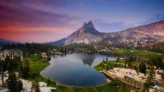 Cathedral Peak - Yosemite, California