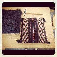 upholstering seat coir