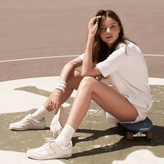6 Athletic-Inspired Essentials toStep Up Your A- Game. #mirandakerr #fashion