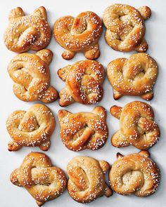 Sweet Soft Pretzels recipe