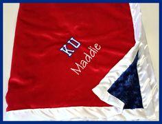 personalized KU blan