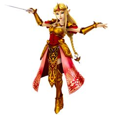 Queen Zelda - Hyrule Warriors