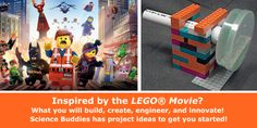 """LEGO Movie Makes Engineering Awesome"": great student conversation starter and project idea tie-ins. [Source: Science Buddies, http://www.sciencebuddies.org/blog/2014/02/lego-movie-makes-engineering-awesome.php?from=Pinterest; Image: LEGO Movie downloadable] #STEM #scienceproject #LEGO #eweek2014"
