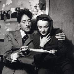 Jean Cocteau et Edith Piaf. le Bel indifférent en 1940