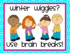 teach elementari, elementari school, httpteach123schoolblogspotcom, brain breaks for kindergarten, wiggl call, classroom manag, teacher resourc, school idea, winter wiggl