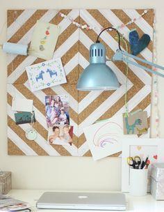 Paint a design on peg board