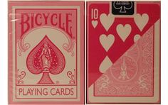 Bicycle Fashion Pink Playing Cards. #playingcards #poker #games