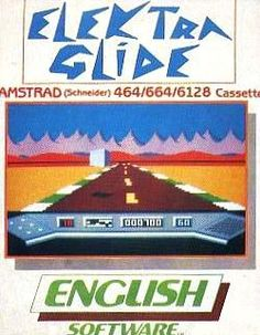 Elektra Glide - English Software (1985) Amstrad CPC cassette
