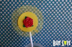 Yellow Princess Belle Cupcake Toppers  One by BabyLoveToppers, $18.00