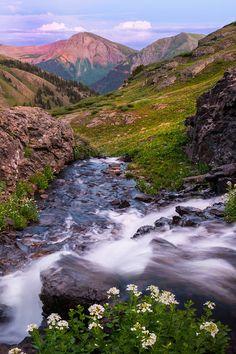 Down Into The Valley - San Juan Mountains, Colorado
