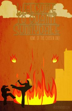 Buffy the Vampire Slayer Welcome to Sunnydale