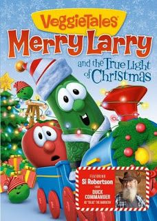 DragonFly Sweetnest: VeggieTales Merry Larry and the True Light of Christmas DVD Review/Giveaway 'Holiday Gift Guide 2013'