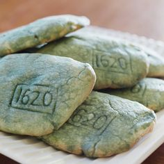 Plymouth Rock Cookies by spoonful.  #Thanksgiving #Cookies
