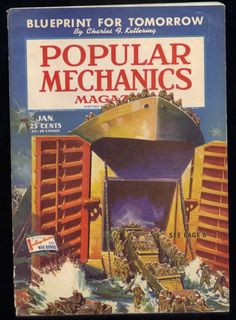 Popular Mechanics 1944, from Etsy.