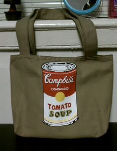 Campbell's Soup Can Tote
