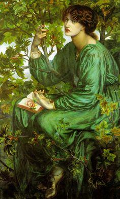 """Dante Gabriel Rossetti """"The Day Dream"""", 1880 (Great Britain, Pre-Raphaelites, 19th cent.)"""