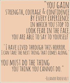 addictions quotes, eleanor roosevelt, believing quotes, addiction recovery quotes, quotes courage