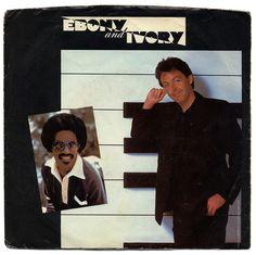 Ebony And Ivory b/w Rainclouds.   Paul McCartney, Columbia Records/USA (1982)