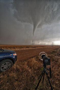 Cone Tornado - Harper County, Kansas