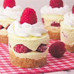 Creamy Lemon Raspberry Dessert Recipe